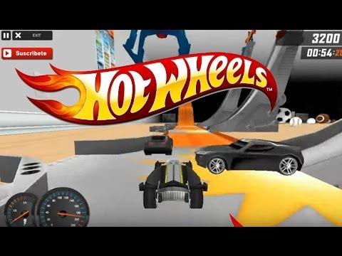 Juego De Autos 103 Hot Wheels Track Builder 2017 Youtube