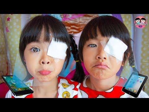 หนูยิ้มหนูแย้ม   ตาเป็นรู ละครสอนใจเด็ก