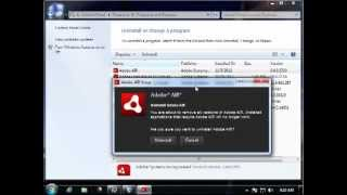 How to Uninstall Adobe AIR 3.4