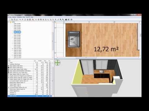 CUISINE IKEA avec Sweet Home 3D