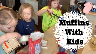 How To Make Muffins | Baking With Kids