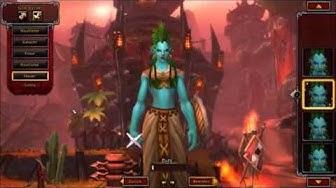 Weiblicher Troll - Warlords of Draenor Beta