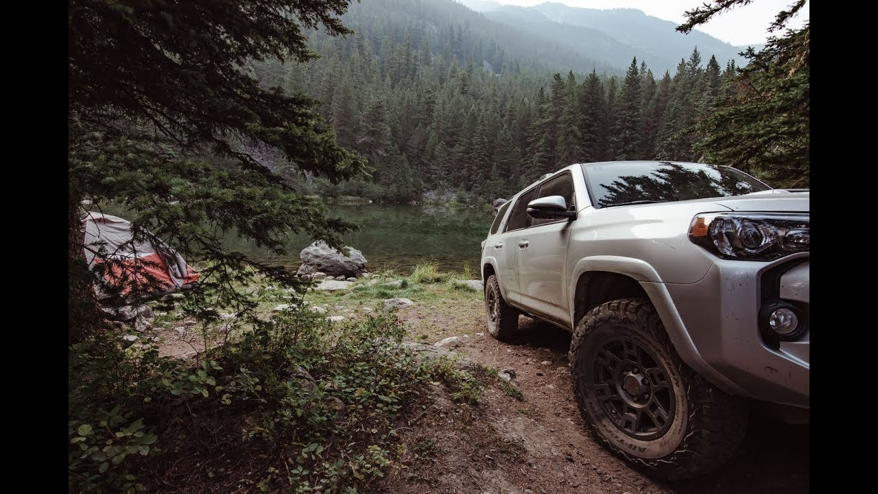 Toyota 4runner Camping