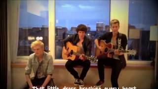 The Vamps - Vegas Girl Lyrics Video (Cover conor maynard)