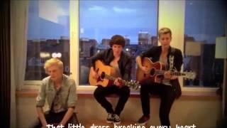 The Vamps - Vegas Girl Lyrics Video (Cover conor maynard)