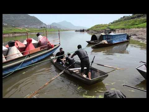RWTH-Forscher am Yangtze-Dreischluchtenreservoir / RWTH Researchers at Yangtze Three Gorges Dam