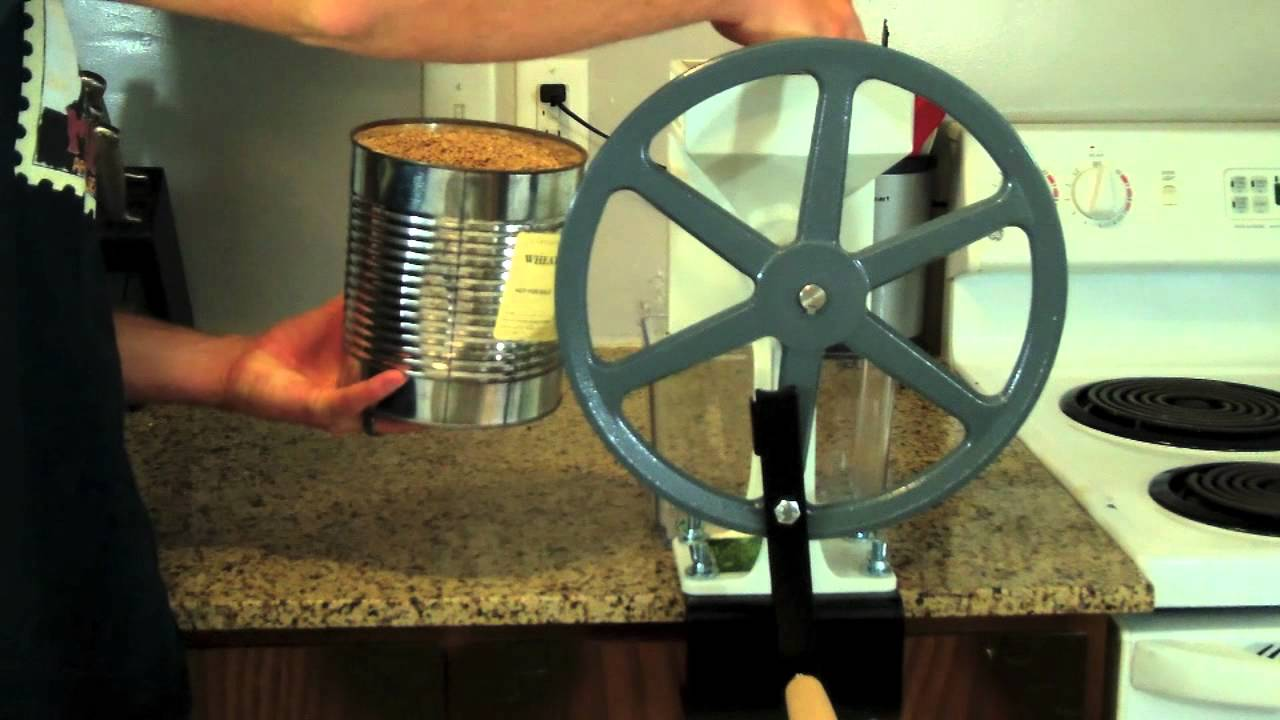 Country Living Grain Mill YouTube
