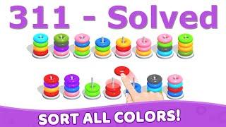 Color Hoop Stack - Level 311 screenshot 5