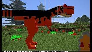 Майнкрафт Выживание с Модами: КАК СОЗДАТЬ ДИНОЗАВРА в Minecraft(ЗАСТАВЬ ЁЖИКА Работать! Поставь ЛАЙК Больше лайков - больше видео!!! ПРОДОЛЖЕНИЕ ВИДЕО выйдет на Втором..., 2014-06-21T01:35:39.000Z)