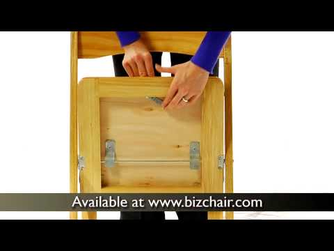 Hercules Wooden Folding Chair (XF 2903 NAT WOOD GG)
