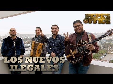 LOS NUEVOS ILEGALES CON PEPE GARZA - Pepe's Office