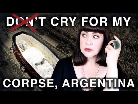 ICONIC CORPSE: The Preservation of Eva Perón