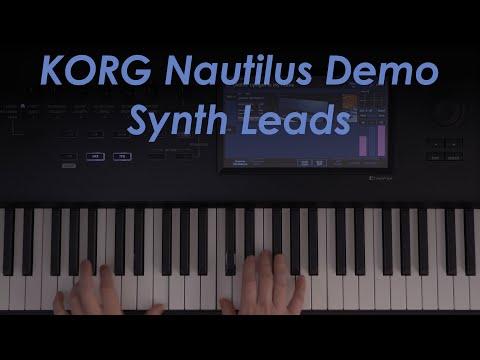 Korg Nautilus Demo - Synth Leads