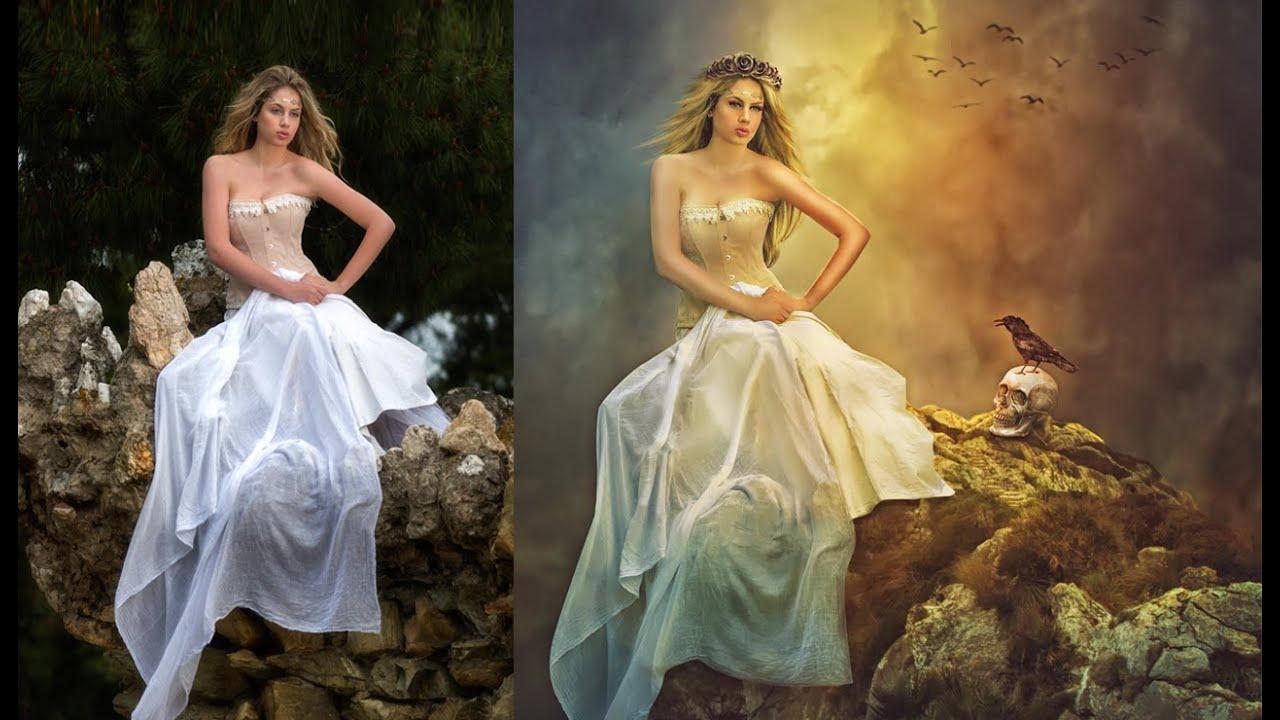Photo manipulation tutorial photoshop cs6 tutorial youtube baditri Images