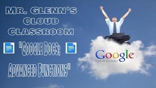 02. Google Docs: Advąnced Functions