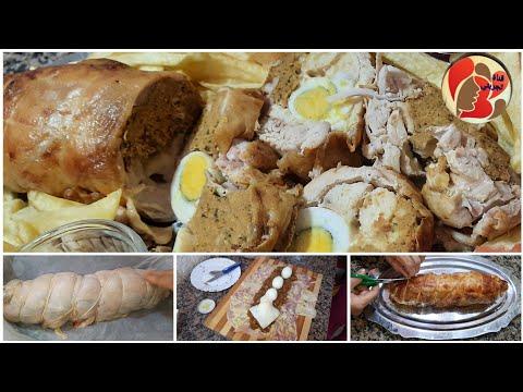 سلسلة-أطباق-الدجاج:-رولي-دجاجة-منزوع-العظم-معمر-بالكفتة-و-الجبن-طريقة-سهلة-و-مبهرة-👌😋🧀🐔