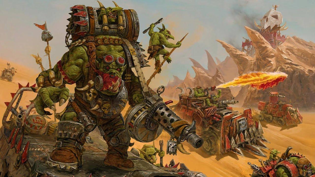 Exploring Warhammer 40k: Orks - YouTube