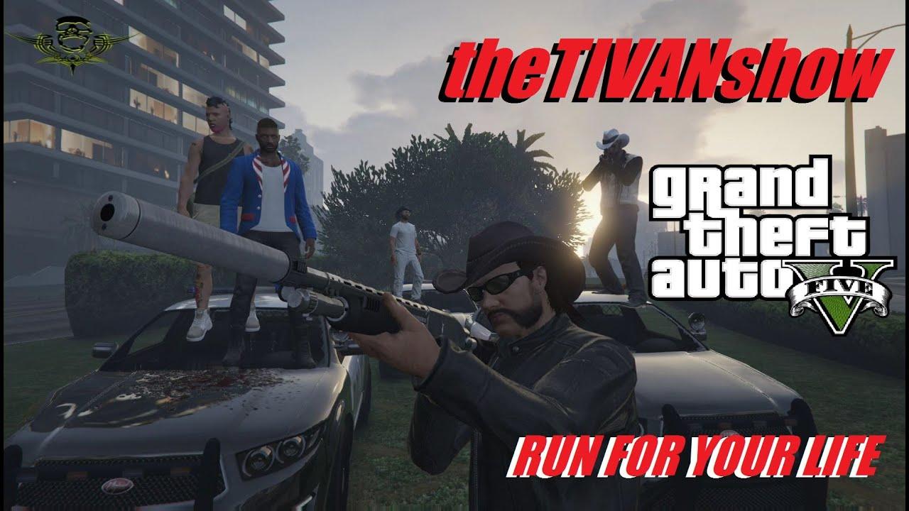 GTA5 - RUN FOR YOUR LIFE - WIN A GAMERS BOX - PS4 - LIVE EVENT