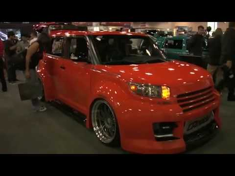 Yonaka Ronin Leather Racing Seats In Scion Xb Sema 2009 Youtube