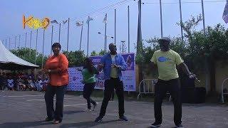 Watch Femi Adebayo, Iyabo Ojo, Ronke Oshodi-Oke Dance Competition With Widows