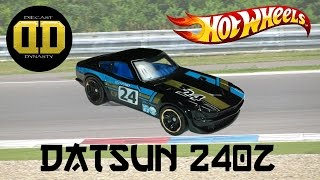 Hot Wheels Datsun 240z Unboxing, Review, and Test Drive