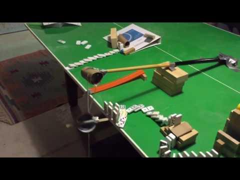 Rube Goldberg Machine With 6 Simple Machines