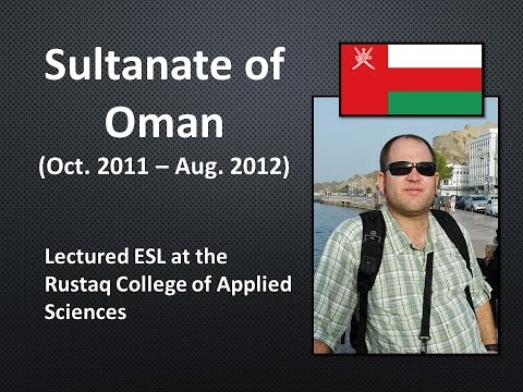 Teaching EAP & Business English in Oman (2011-2012)