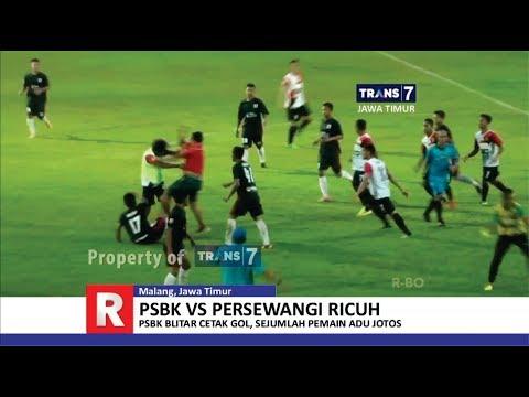 TRANS7 JAWA TIMUR - Adu Jotos!! Laga Liga 2 PSBK Blitar vs Persewangi Banyuwangi