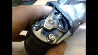 čištění EGR ventilu