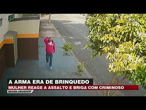 SP: Bandido Tenta Assaltar Mulher Com Arma De Brinquedo