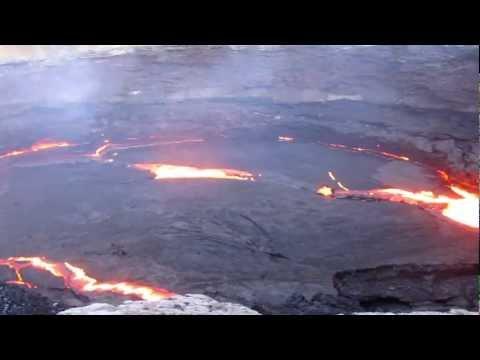 Erta Ale Volcano Lava Lake in the Danakil Depression of Ethiopia