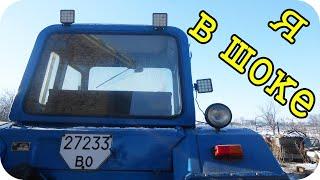 Обзор светодиодных фар на трактор. LED фари (Светодиодные фары) трактор МТЗ