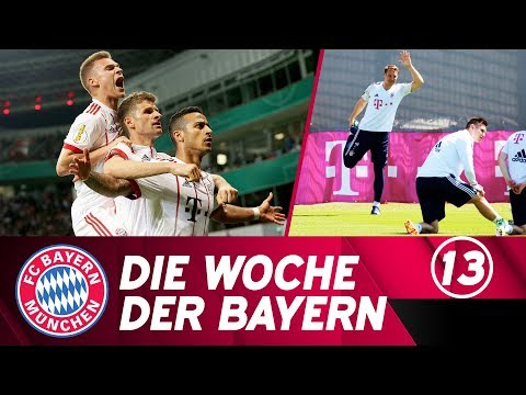 Die Woche der Bayern: Wir fahren nach Berlin & Neuer zurück im Mannschaftstraining   Ausgabe 12