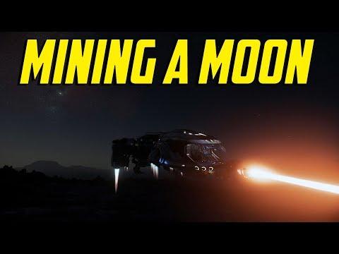 Star Citizen - Mining a Moon