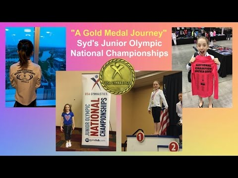 Syd's Gold Medal Bar Routine | Junior Olympic Nationals Journey | Gymscool