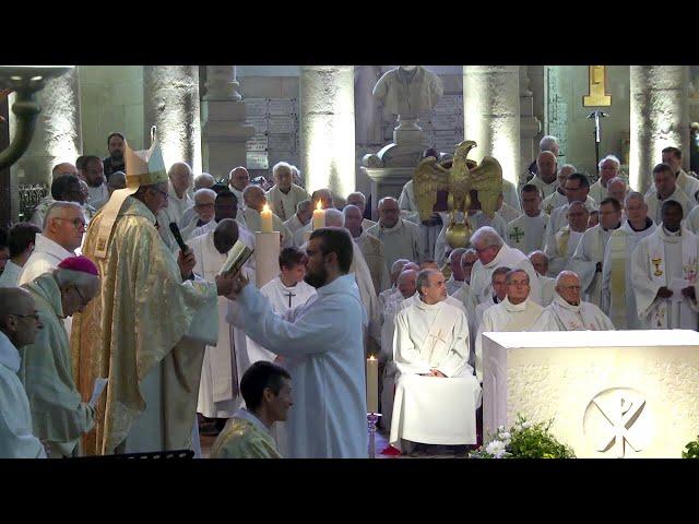Messe chrismale 2019, renouvellement des vœux des Prêtres