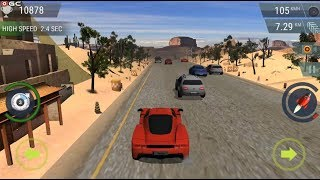 """Racing Nitro Motor """"Scene 3"""" Traffic Racer Speed Car Games - Android Gameplay FHD #3"""