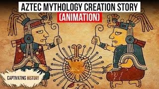 Der aztekischen Mythologie Schöpfungsgeschichte Erklärt Animation