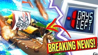 *BREAKING NEWS* MASSIVE WAVES AND FLOODING TO HIT FORTNITE ANYTIME NOW! CUBE EVENT UPDATE!: BR