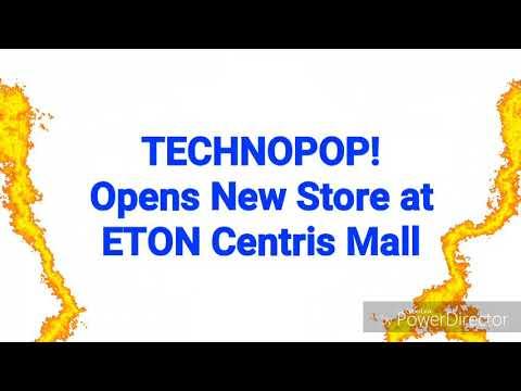 TECHNOPOP Store Opens at Eton Centris