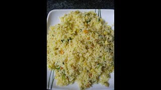 Egg fried rice tasty and simple fried rice
