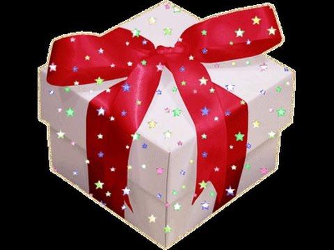 Гифки подарок
