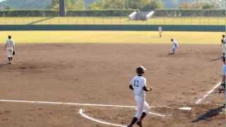 2012/10/28 崇徳vs広陵@西京S 広陵高校7回二死からの4連打で一挙3点