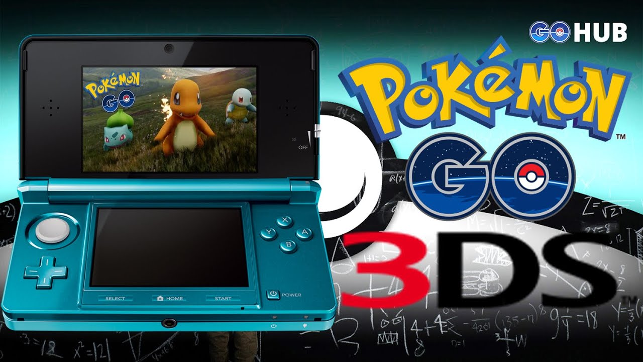 pokemon go on 3ds confirmed!!? - youtube