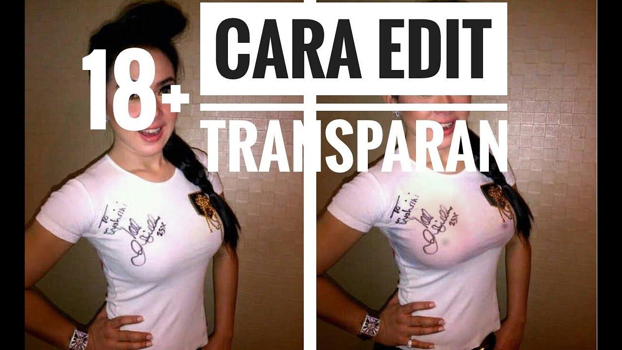 Cara Edit Foto Transparan - YouTube