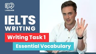 E2 IELTS Academic | Writing Task 1 with Jay | Essential Vocabulary