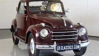 Fiat Topolino 500C 1950 in very good and beautiful condition -VIDEO- www.ERclassics.com