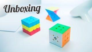 YuXin HuangLong 3x3 & ZCube Sandwich | Unboxing & Mini Review