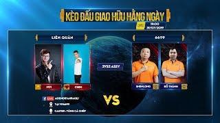 Trực tiếp AOE   Chim Sẻ Đi Nắng, No1 vs Shenlong, Đổ Thánh   2v2 Assy