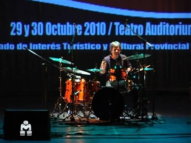 JORGE ARAUJO en 7° Festival Mar del Plata Percusión - ArgentinaPercussionFest  2010 -